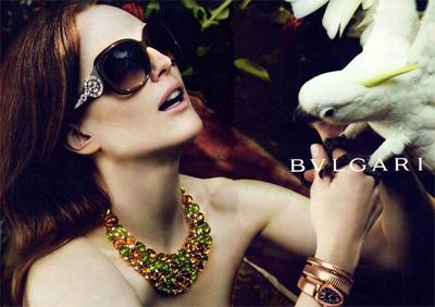 Bulgari sunglasses campaign