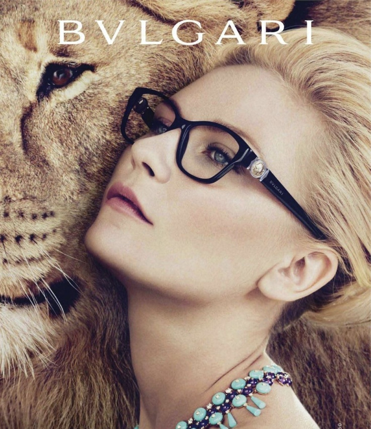 Bulgari glasses campaign