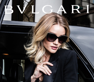 Bulgari sunglasses campaign