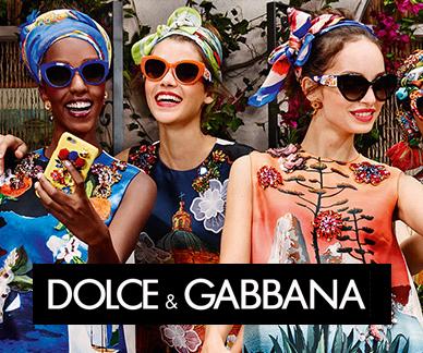 Dolce Gabbana sunglasses on models