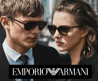 Emporio Armani sunglasses on models