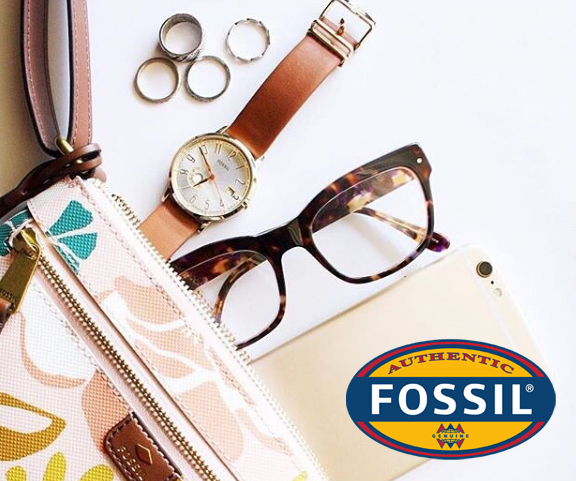 Fossil glasses ad