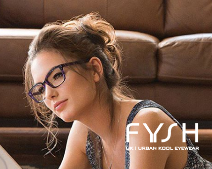 FYSH glasses advertsiment