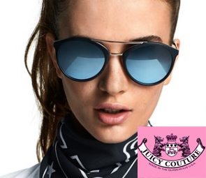 Juicy Couture Sunglasses on a model