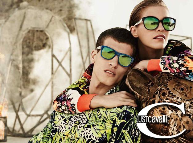 Just Cavalli sunglasses on models