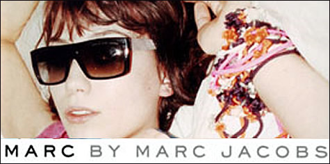 Marc Jacobs glasses advertisement