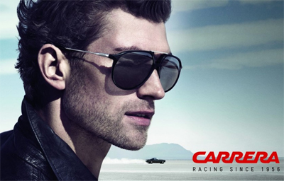 Carrera sunglasses campaign