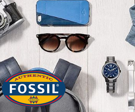 Fossil eyewear advertisement