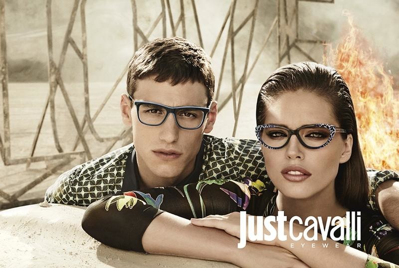 Just Cavalli on a model